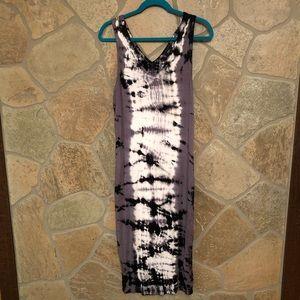 Mossimo sleeveless tie dye maxi dress. Size M